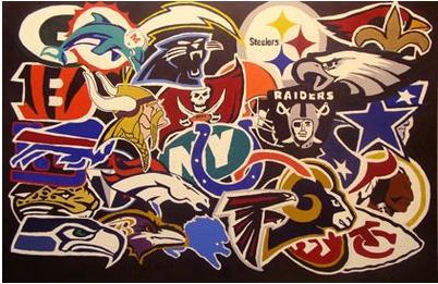 All NFL Football Teams Logos