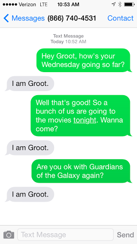 Groot Texts