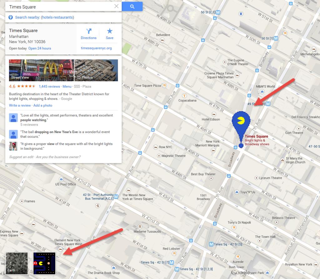 PAC-MAN Times Square 2