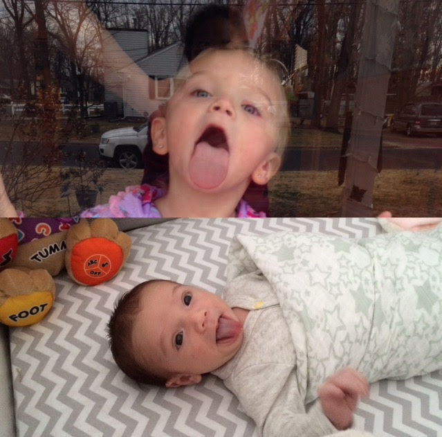 Presley and Miles Tongues