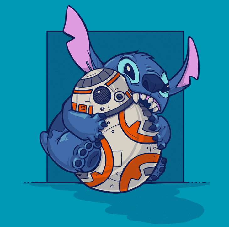 BB8 and Stitch